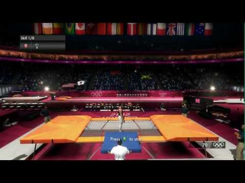 London 2012: The Official Video Game - Men's Trampoline