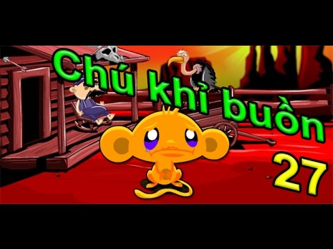 Game chú khỉ buồn 27 - Monkey GO Happy Games | Game 24H