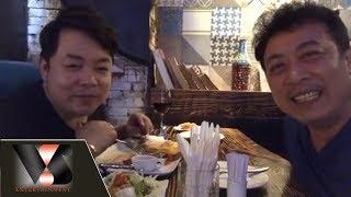 Quang Lê đến tham quan nhà trải nghiệm đồ ăn ngon tại nhà hàng POP LOUNGE của Vân Sơn