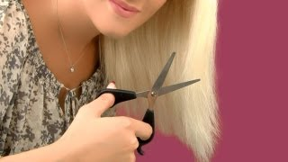 How To Cut Your Own Hair And Trim Split Ends At Home