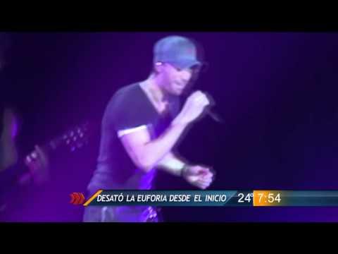 Las Noticias - Enamora Enrique Iglesias en Monterrey