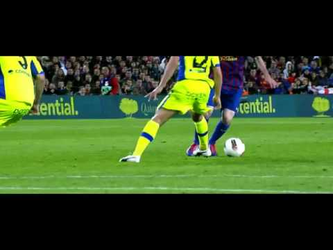 Lionel Messi vs Getafe 10-04-2012 - Home HD