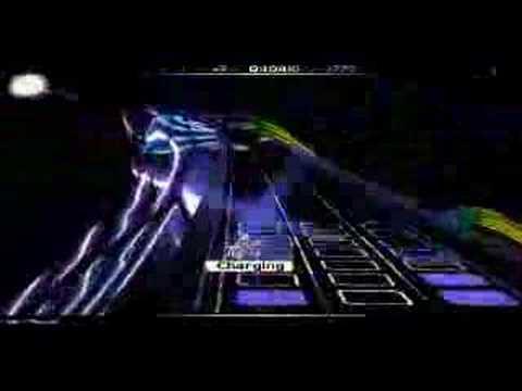 Audiosurf + Moby Thousand (самая быстрая песня)