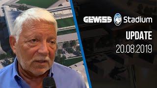 Lavori Gewiss Stadium: l'intervista al D.O. Roberto Spagnolo