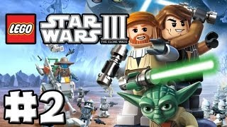 LEGO Star Wars 3 The Clone Wars Episode 02 Duel Of