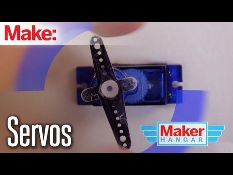 Maker Hangar Episode 5:Servos