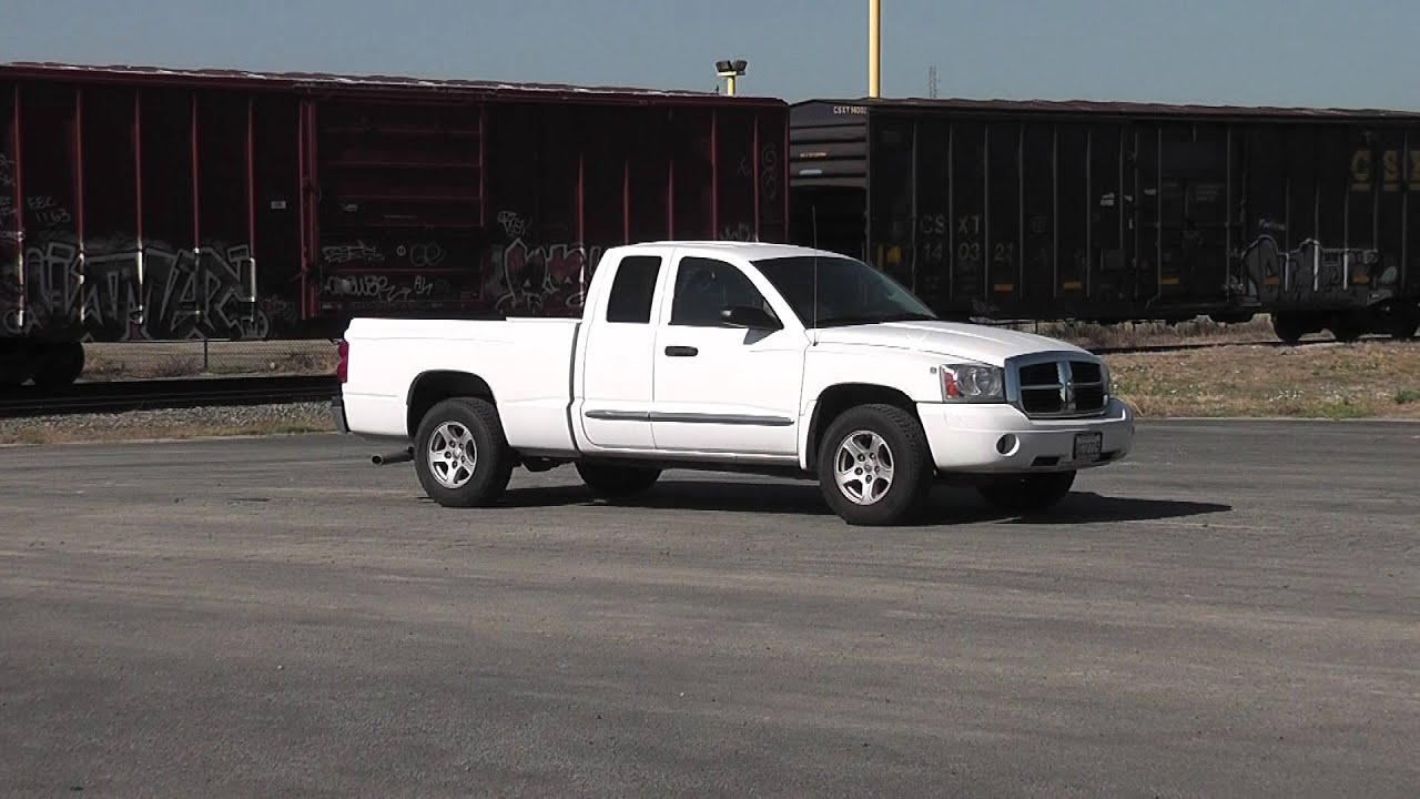 2006 dodge dakota v8 magnum slt truck youtube. Black Bedroom Furniture Sets. Home Design Ideas