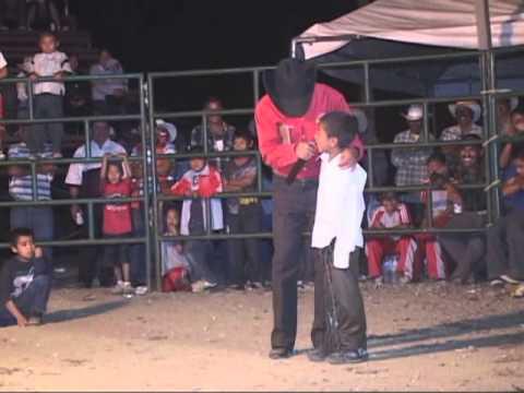 SAN SEBASTIAN DEL MONTE  2012 jaripeo de niños