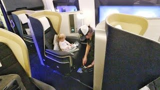 Incredible FIRST CLASS Seats!!