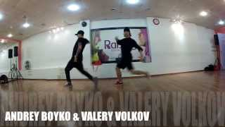 CHRIS BROWN & NIKKI MINAJ - RIGHT BY MY SIDE CHOREOGRAPHY BY ANDREY BOYKO