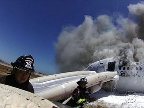 Asiana crash: Firefighters focused on fire, not what was outside vehicle, safety officer says