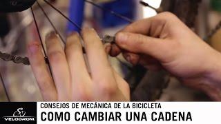Cambiar la cadena de tu bicicleta