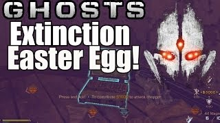 "Call Of Duty: GHOSTS EXTINCTION SECRET ITEM! ""Attack"