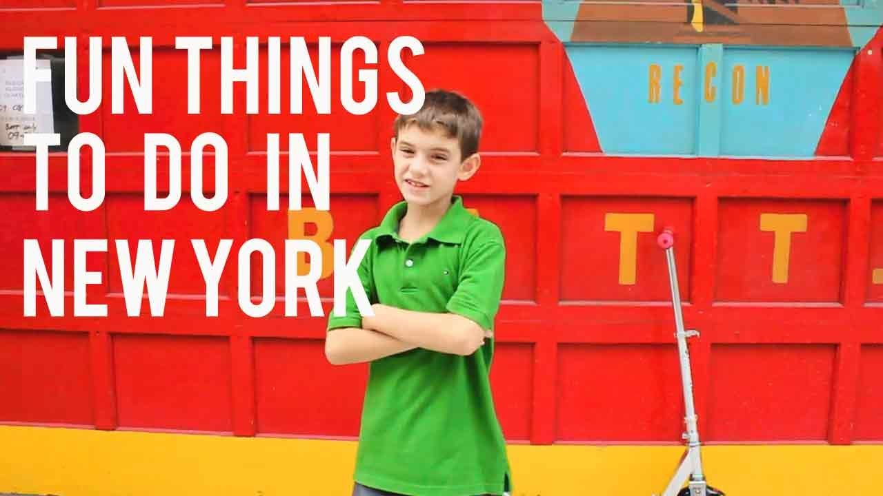 Fun things to do in new york for kids and adults youtube for Fun things to do with toddlers in nyc