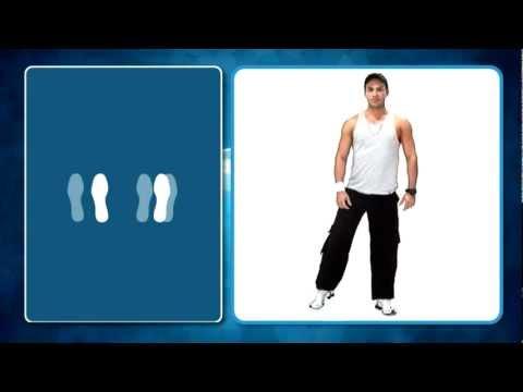 Reggaeton Nivel 1 Paso básico rol hombre (5/13) - Academia de Baile