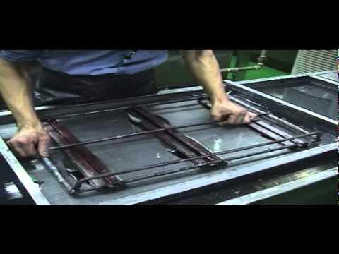 water transfer printing machine - manual set