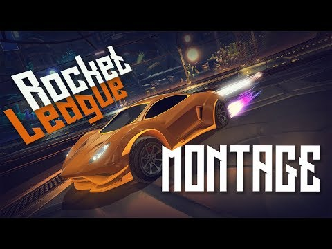 Rocket League BEST GOALS/FREESTYLE MONTAGE! - Air Dribbles, Aerial, Double Touches.