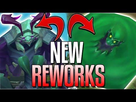 NEW ZAC, MAOKAI, SEJUANI REWORKS! OWNING RIFT HERALD?! & MORE - Mid-Season League of Legends !