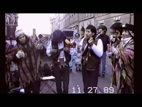 Fiesta de la Cebolla - Berna (Suiza) nov. 1989. Reunión de grupos folklóricos peruanos