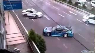 Fugindo Da POLICIA Com Drift