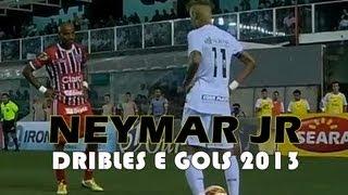 ★ Neymar Melhores Dribles E Gols ★ (10,11,12 , 2013