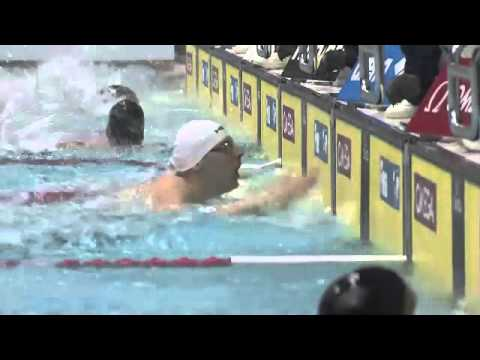 Men's 100m freestyle final FINA Swimming World Cup 2013 Tokyo
