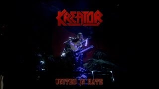 KREATOR - United In Hate: LIVE (Dying Alive DVD)