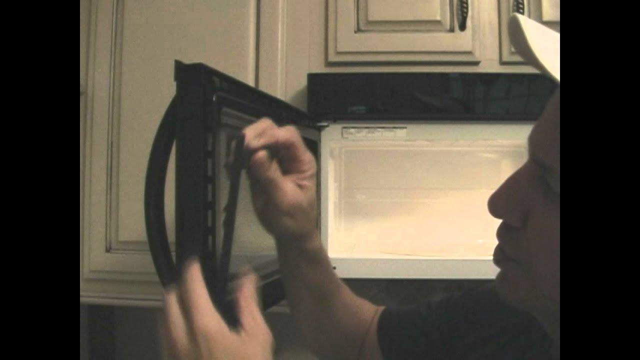 Broken Microwave Door Youtube