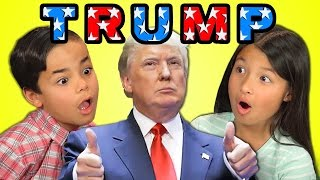 Kids React To Donald Trump