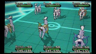 The Arceus Arsenal Challenge: Pokemon X And Y Wifi Battle