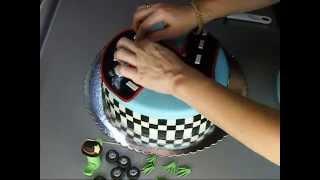Torta Sa Auticima Cars Cake.wmv