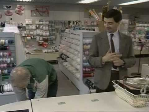 Mr. Bean - Shopping