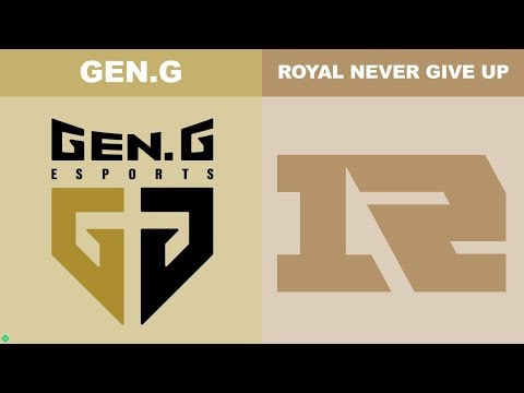 GEN vs RNG - Worlds 2018 Group Stage Day 2 - Gen.G vs Royal Never Give Up