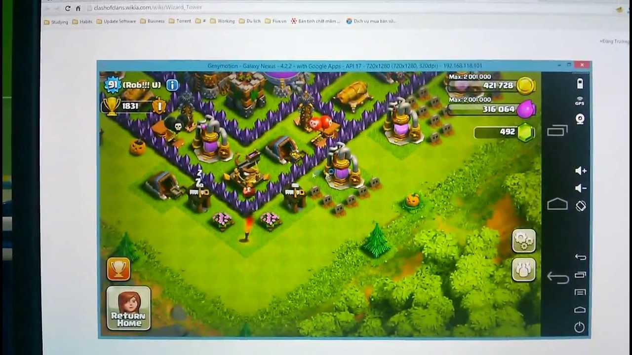 Clash of Clans Download for Windows 8