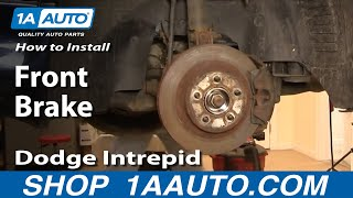 How To Install Replace Front Brakes On Dodge Intrepid 98