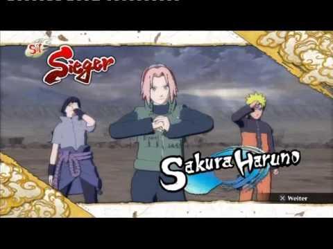 Naruto Storm 3 Sakura (Naruto & EMS Sasuke) vs. Madara (Rinnegan Tobi) (3 rounds)