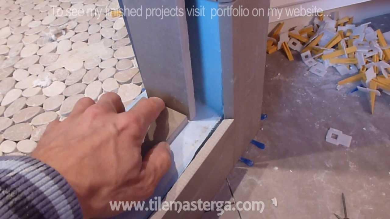 how to install shower surround tile backer board. Black Bedroom Furniture Sets. Home Design Ideas