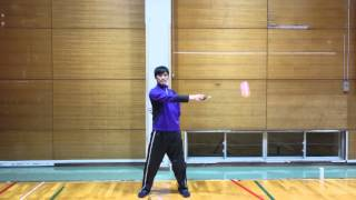 Split Butterfly Anti Spin Flower Practice - One Poi