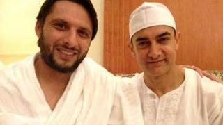 Aamir Khan Greets Pakistan All-rounder Shahid Afridi In