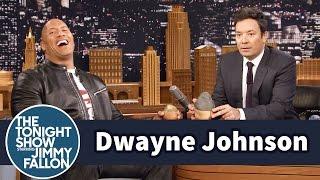 Dwayne Johnson's Daughter Is Not a Santa Fan