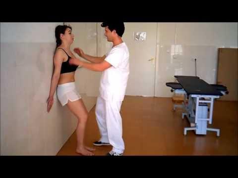 umh1738 2013-14 Lec005 Tratamiento Dolor Cervical.De pie contra la pared y en el centro.