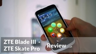 ZTE Blade 3 / Skate Pro Review (english Version)