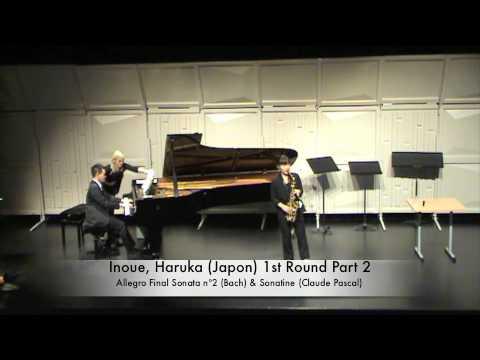 Inoue, Haruka (Japon) 1st Round Part 2