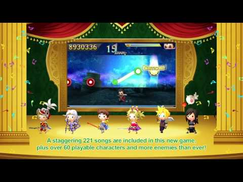 THEATRHYTHM FINAL FANTASY CURTAIN CALL - Announce Trailer