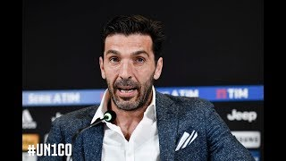 🎥🔴?? | WATCH: #Gianluigi Buffon press conference   #FinoAllaFine #ForzaJuve