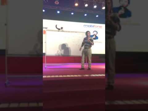 Tiến sĩ Lê Thẩm Dương chém gió tại trường Đại Học Hàng Hải ngày 26/5/2017