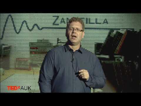 I market my spot: Glenn Noble at TEDxAUK