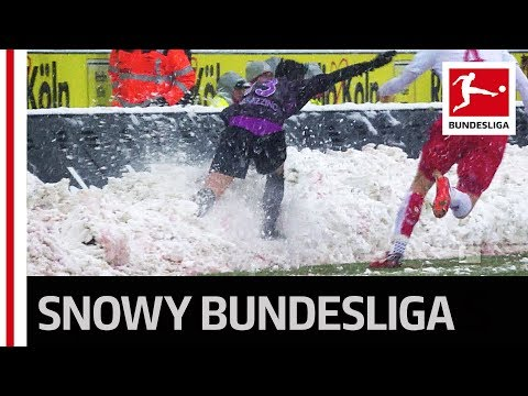 Wintertime in the Bundesliga - Matchday 15 Mashup