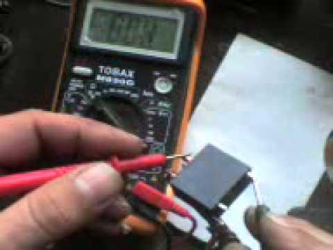2002 chevy tracker wiring diagram prueba de relay youtube  prueba de relay youtube