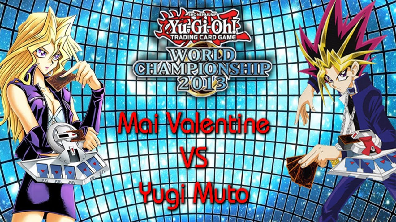 Mai valentine vs yugi muto yu gi oh world championship